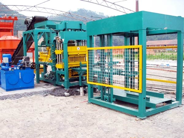 automatic block brick machine