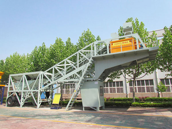 mobile concrete batch mix plant for sale