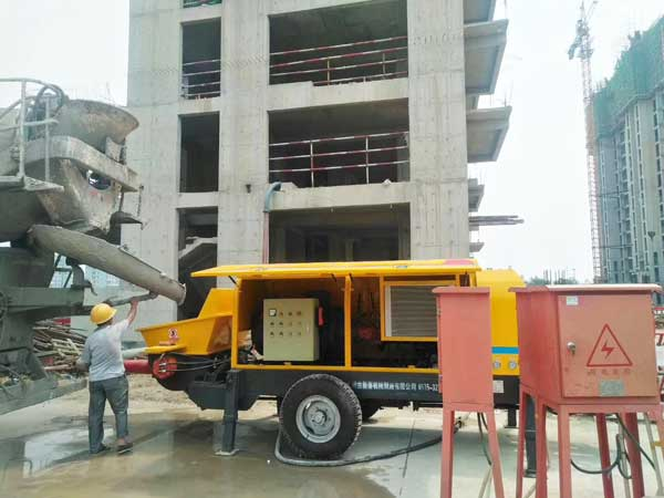 application of trailer pump