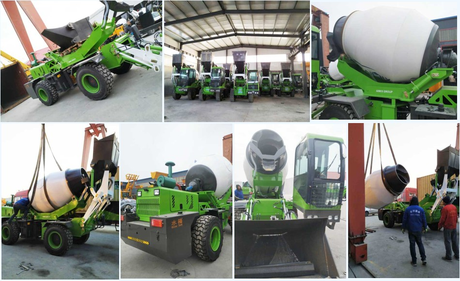 3.2cub self loading mixer is transported to Malaysia
