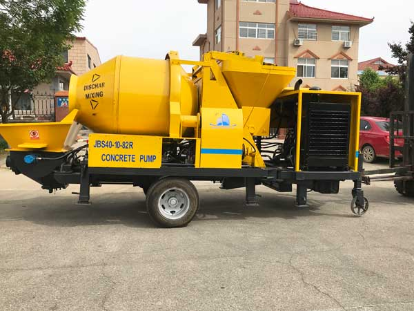 JBS40R concrete pump8