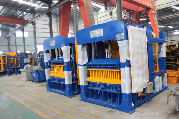 ABM-10S concrete block making machine
