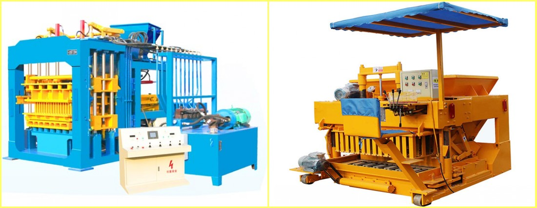 fully automatic and semi automatic block machine