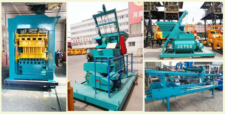interlocking brick machine is delivered to other countries