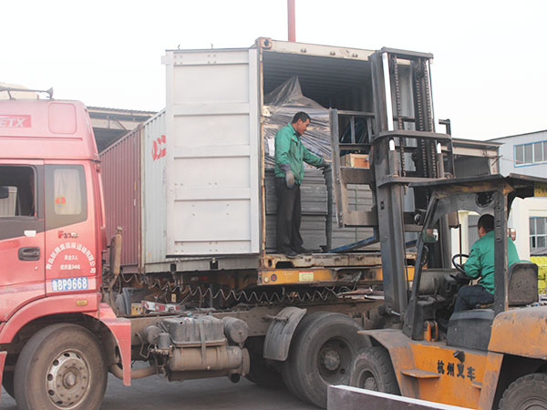 deliver the fly ash brick machine