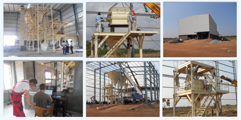 10t dry mortar plant in India