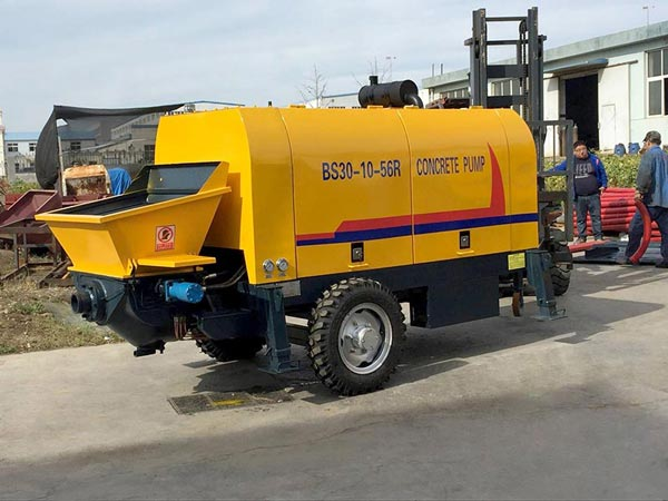 BS30R concrete trailer pump sale