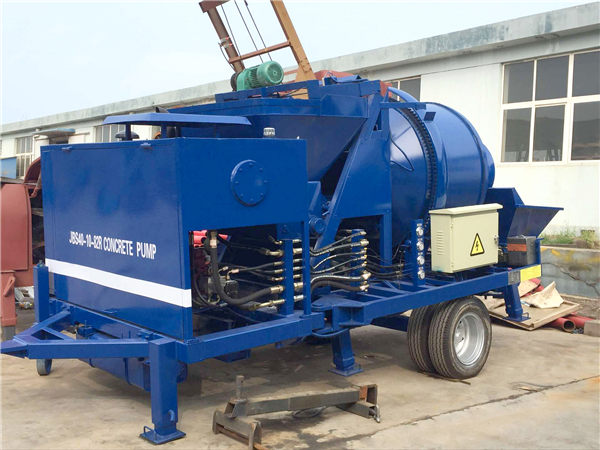 ABJZ40C concrete mixing pump
