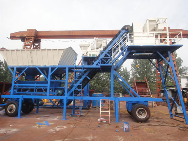 YHZS25 portable batching plant