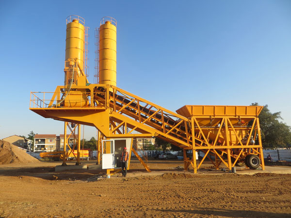 AJY-35 mobile type plant