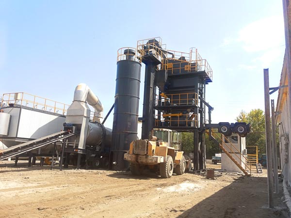 YLB1500 small portable asphalt plants for sale