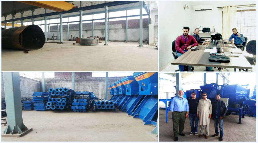 aimix factory and office in Pakistan
