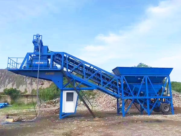 yhzs35 portable plant for sale