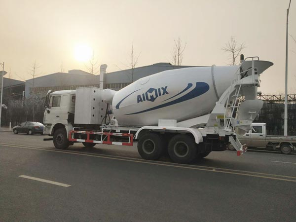 12cub concrete mixer truck machine