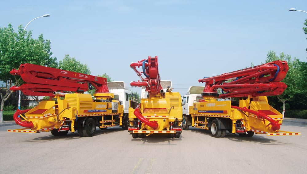 47m concrete boom pump for sale