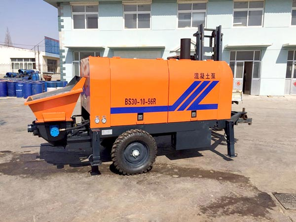 ABT30C diesel concrete trailer pump
