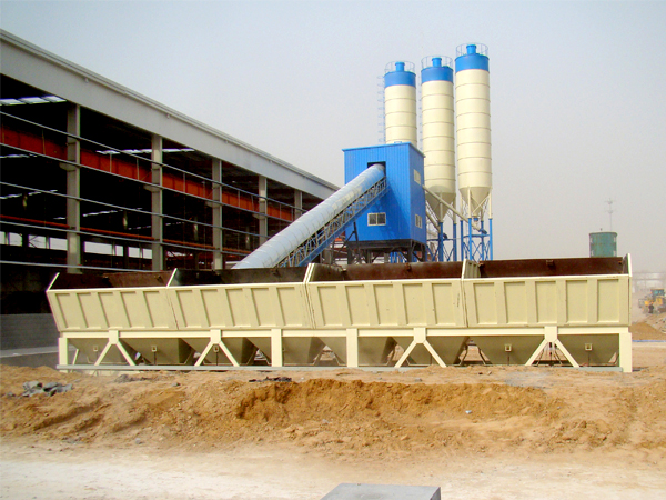 AJ-90 stationary concrete batching plant
