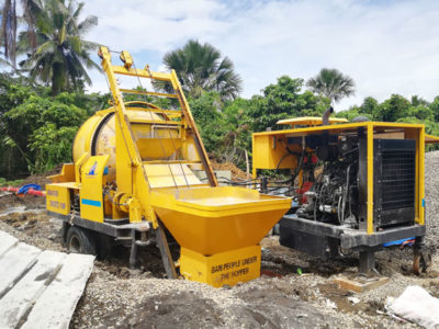 JBS40R mini mixer pump works in Philippines