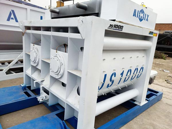 JS1000 concrete mixer machine