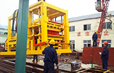 ABM-6S hollow block machine in South Africa