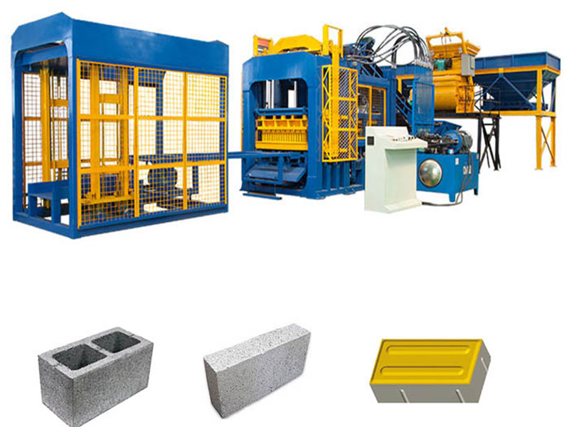 a complete fly ash brick production line