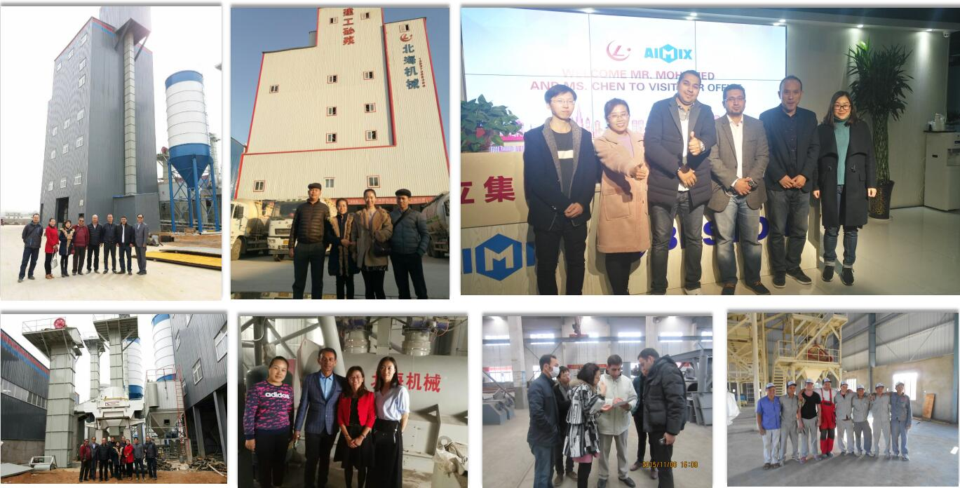 our customers visit our factory