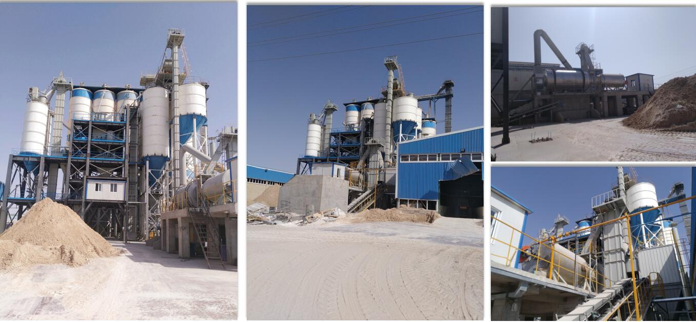 GJ30 wall putty manufacturing plant exported to Qatar