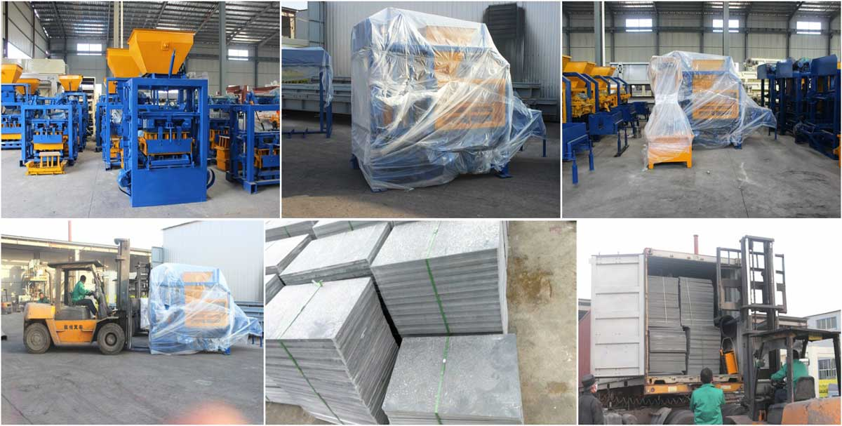 ship ABM-4S solid block machine to Malaysia