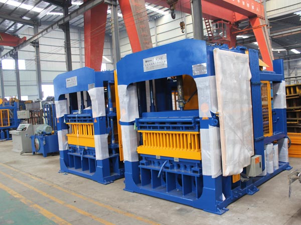 ABM-10S block moulding machine