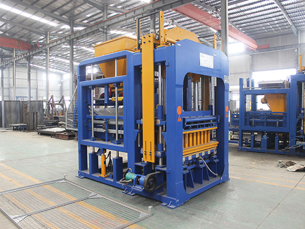 ABM-8S block moulding machine