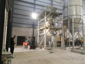GJ20 dry mortar making plant