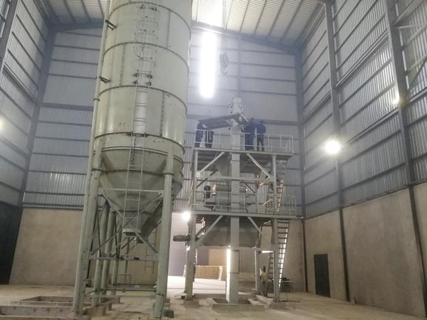 GJ20 dry mortar manufacturing plant