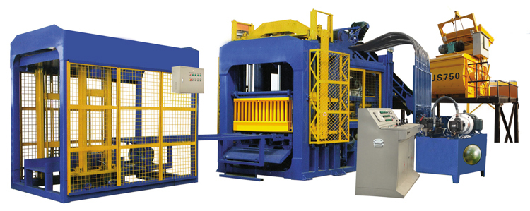a complete set of brick production line
