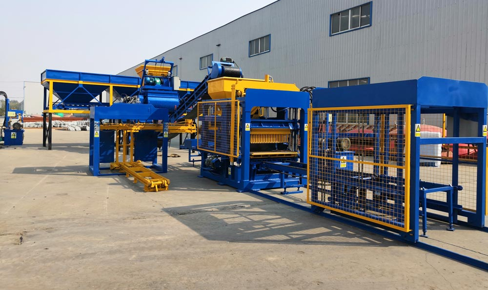 a complete block moulding machine for sale