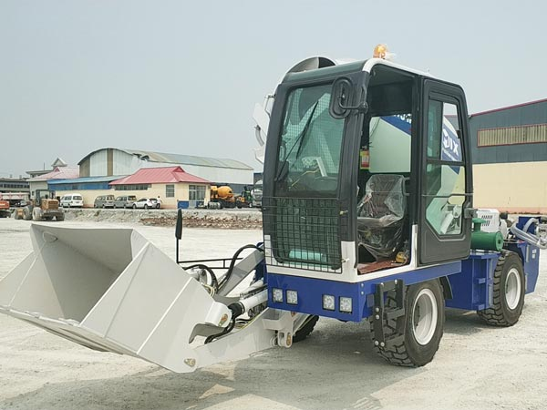 3.5cub self loading mixer machine