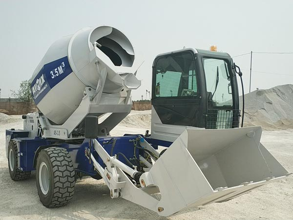 3.5cub self loading mixer truck