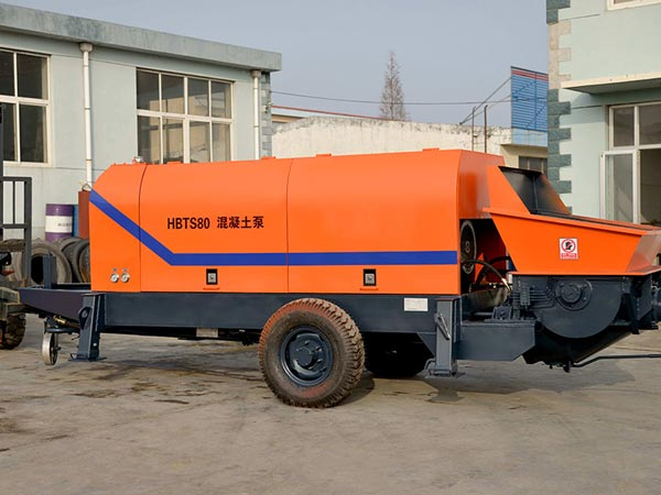 ABT80C concrete pump machine