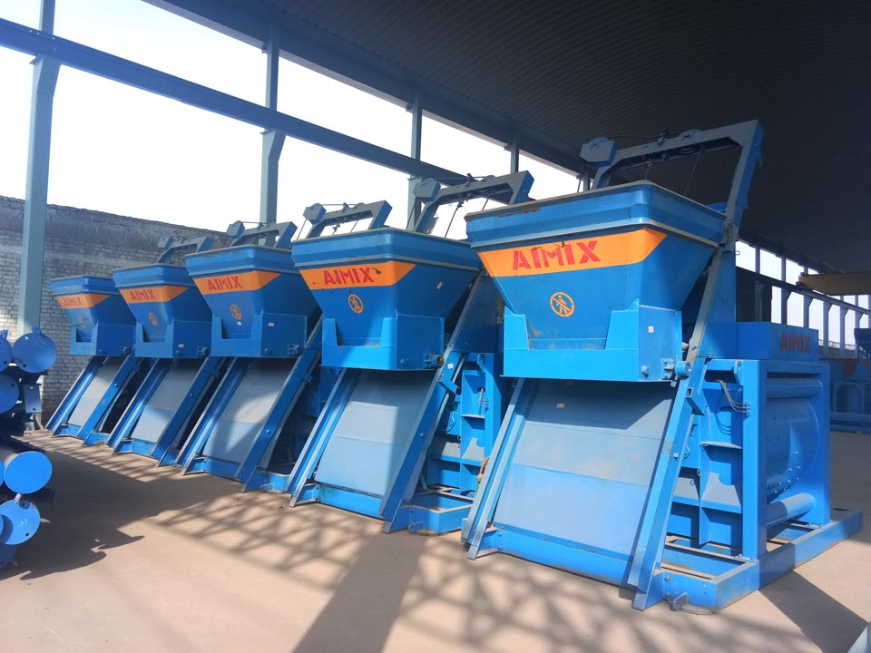 concrete mixer machine factory