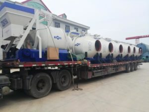 deliver mixer machine