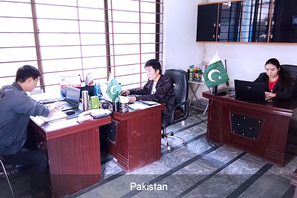 Local Based Service Center Pakistan